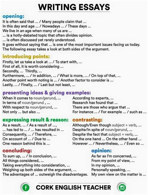Useful linking words and phrases to use in your essays jpg 730x960